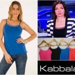 Kabbala-Musculosa bretel fino