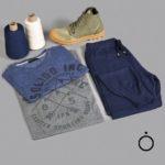 Solido Inc-Pantalon tejido Braxton hombre-Botas Guetta Lona