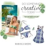 Marcela Koury.trajes de baño 2