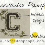 Bordados Pampa-Bordado aplique