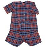 Pijama botones-Indumentaria interior para hombres