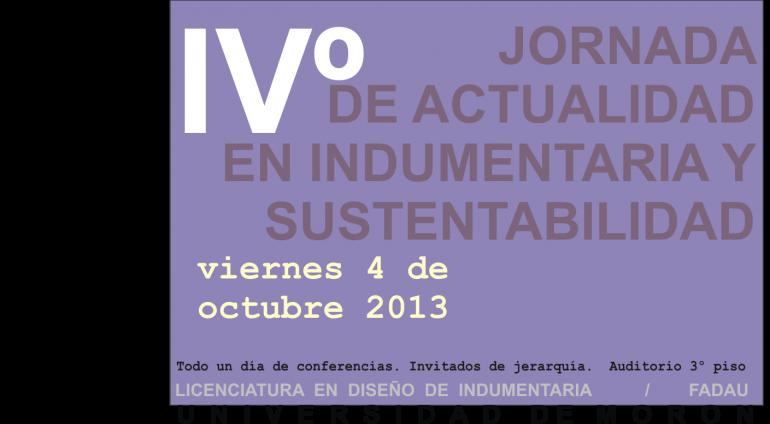 Public Jornada Para Publi Actualidad En Indumentaria Y Sustentabilidad - Moda Sostenible