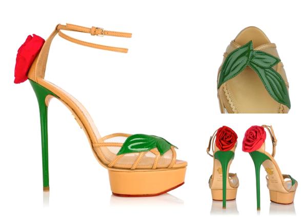La Vie En Rose &Quot;La Vie En Rose&Quot; Por Charlotte Olimpia - Moda Y Diseñadores Calzado, Cuero