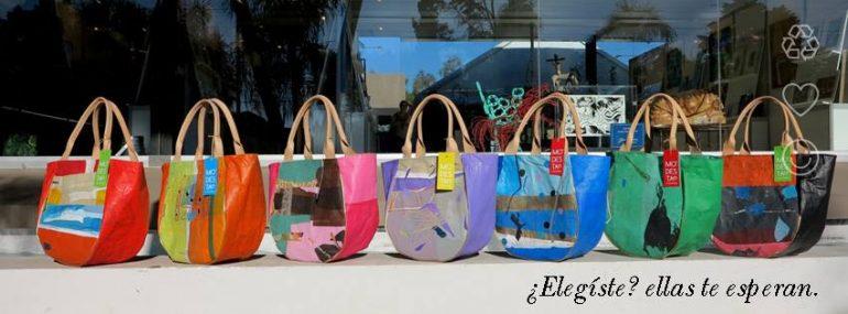 Modesta Carteras Modesta, La Creatividad A Partir Del Deshecho - Moda Sostenible