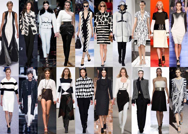 La Embajada Blanco Y Negro El Binomio Blanco Y Negro - Moda Y Diseñadores Textil E Indumentaria