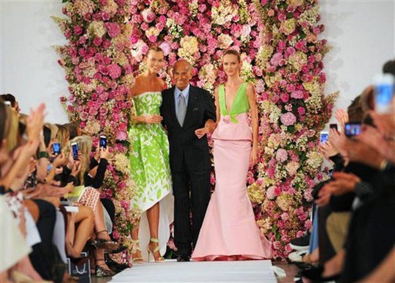 Oscar De La Renta Deceso Spancaet167 Oscar De La Renta, Adiós Al Diseñador Que Conquistó A Todas Las Mujeres - Moda Y Diseñadores Textil E Indumentaria