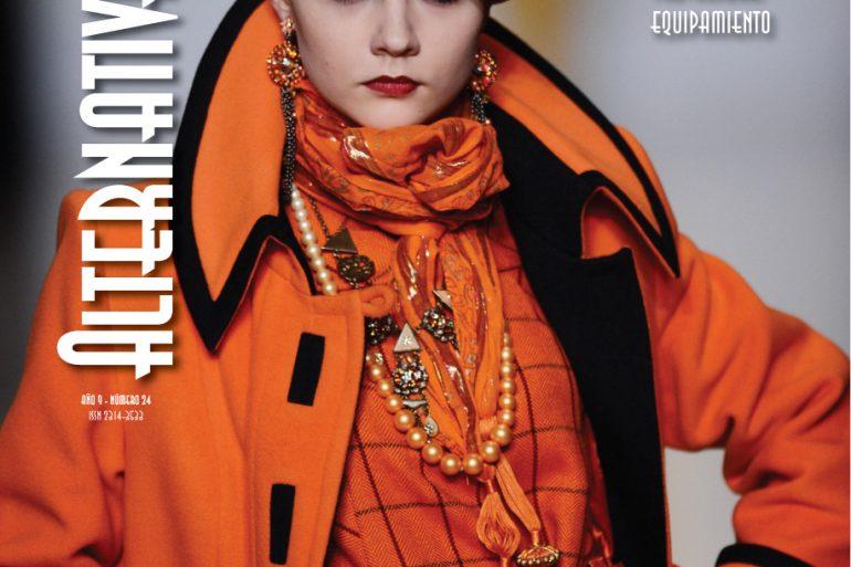 Tapa Am 24 Web Alternativa Moda, Una Verdadera Revista De Colección