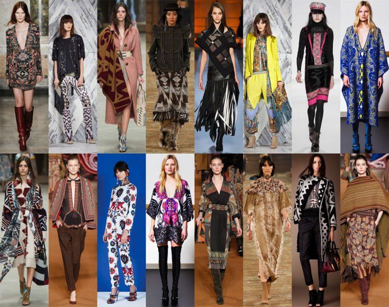 Lejano Oeste Far West , Una Temporada Con Espíritu Bohemio - Moda Y Diseñadores Textil E Indumentaria