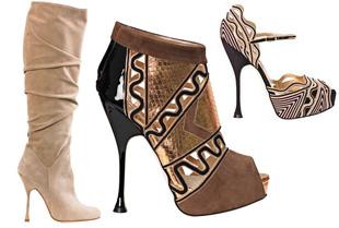 Brian Atwood Brian Atwood, Zapatos Con Inspiración En La Arquitectura - Moda Y Diseñadores Calzado, Cuero