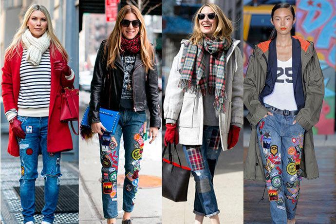 Jeans Customizado Jeans Customizados - Tendencias 2021/2022 En Textil E Indumentaria