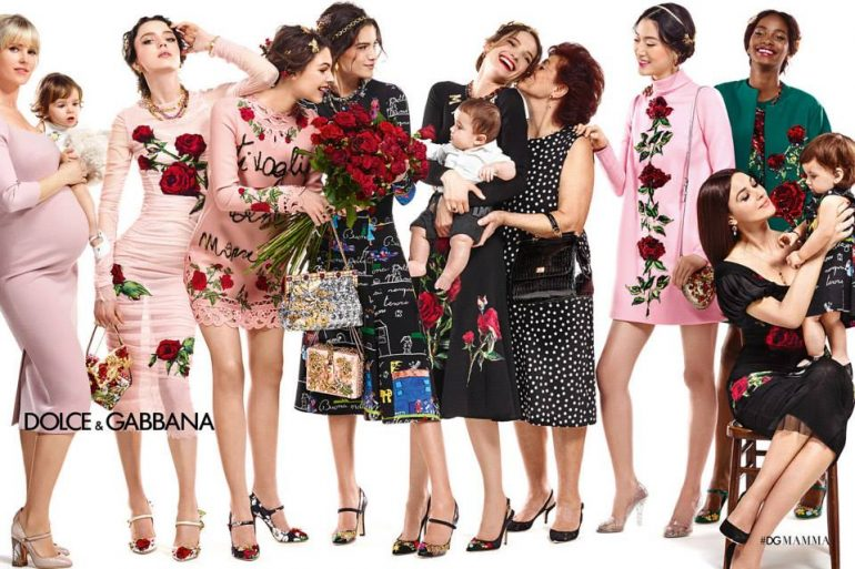 Dolce Gabbana De Madres A Hijos, Dolce&Amp;Gabbana Sube A Los Bebés A La Pasarela - Moda Y Diseñadores Textil E Indumentaria