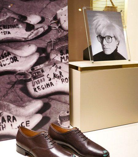 Zapatos Salvatore Ferragamo Inspirados En Andy Warhol Andy Warhol Con Zapatos De Salvatore Ferragamo - Zapatos