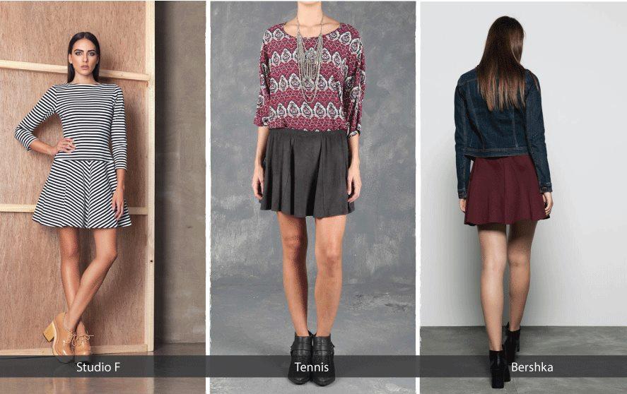 86581d8674 Las faldas cortas con volumen se han convertido en una prenda que no puede  faltar en el guardarropa de las mujeres que son un poco más atrevidas y que  se ...