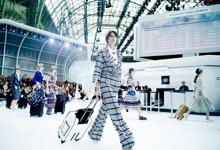 Chanel 2016 Moda: Chanel, Embarque Inmediato Por La Puerta No.5, First Class - Moda Y Diseñadores Textil E Indumentaria