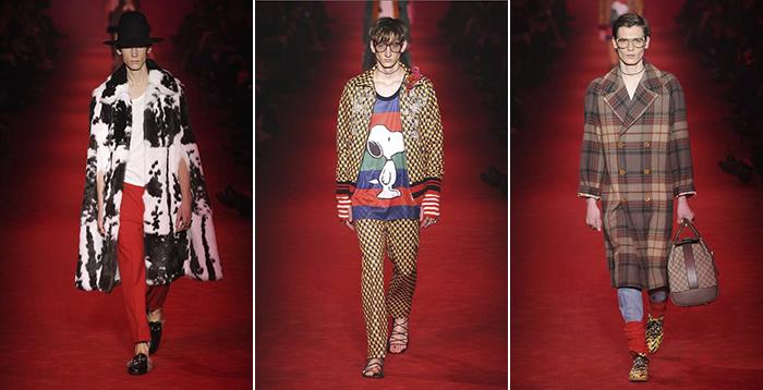 Gucci La Ropa De Hombre- Otoño Invierno 2016/2017 De Gucci - Moda Y Diseñadores Textil E Indumentaria