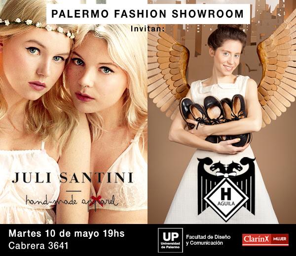 Palermo Fashion Week Hermanas Águila + Juli Santini Presentan Sus Productos Al Público - Eventos Calzado, Cuero