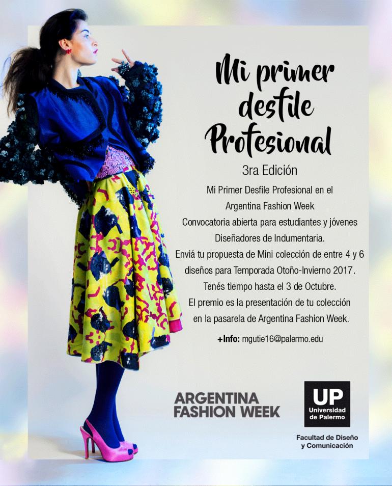 Afw Mi Primer Desfile Profesional En Argentina Fashion Week - Eventos Textil E Indumentaria