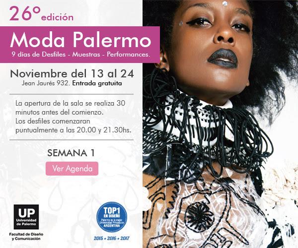 Agenda De Moda Up Moda En Palermo, 9 Dias De Desfiles