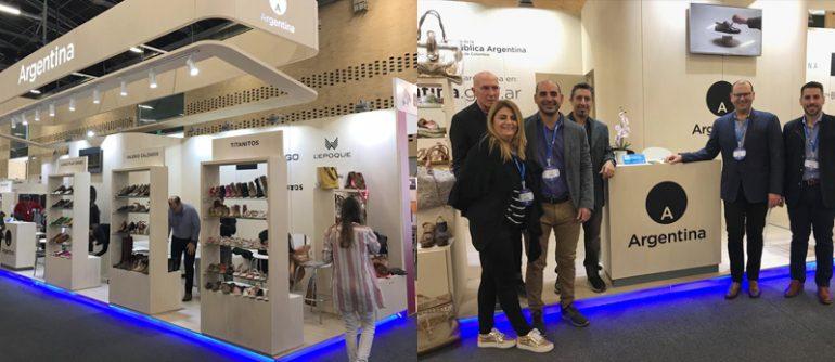 Empresas Argentinas En Colombia Empresas Santafesinas Expusieron En Colombia - Empresas Calzado, Cuero