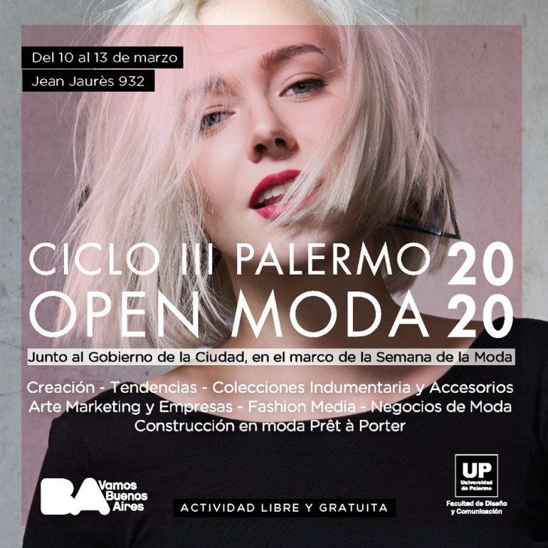 Unipalermo Palermo Open Moda 2020 - Moda Y Diseñadores Calzado, Cuero