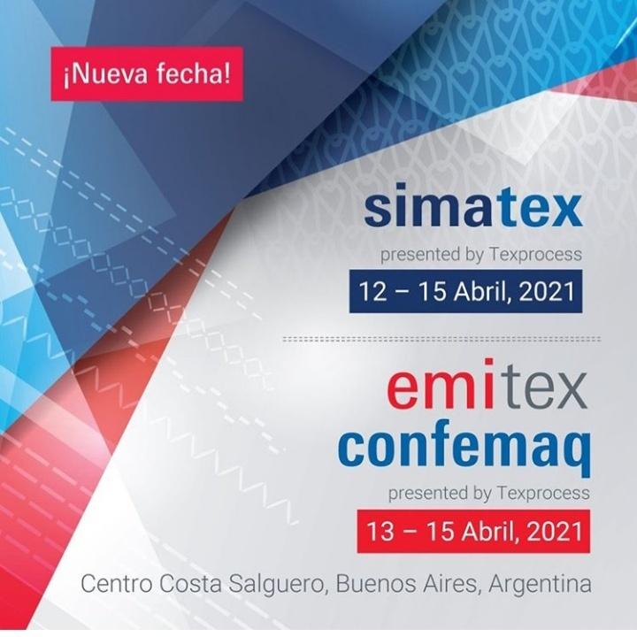 20200422 122204 Proveedores De La Industria Textil En Emitex Simatex Confemaq - Eventos Textil E Indumentaria