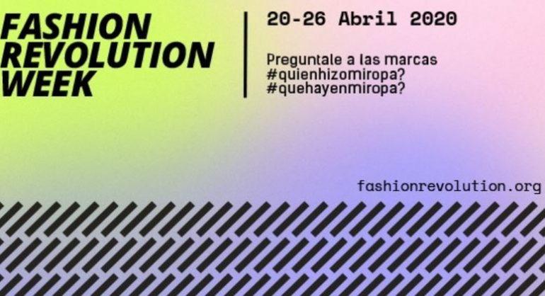 Fashion Fashion Revolution Week En Argentina