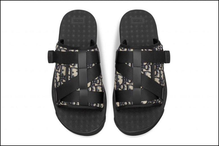 Sandalias Dior 1 1024X683 Dior Lanzo Calzado Cómodo Para Estar En Casa - Moda Y Diseñadores Calzado, Cuero