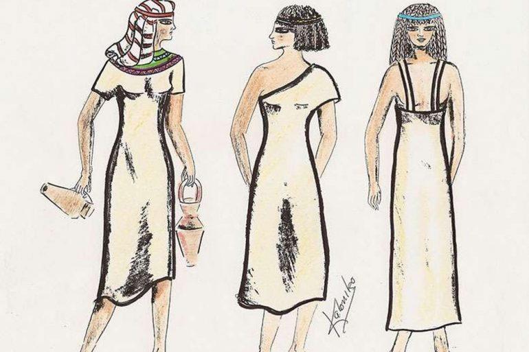 Egipto Historia De La Moda: Antiguo Egipto