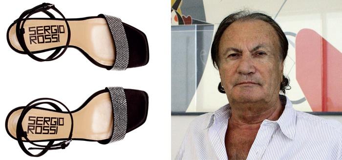 Sergio Rossi Una Leyenda De La Moda Mundial De Calzado - Moda Y Diseñadores Calzado, Cuero