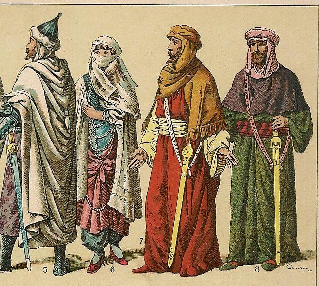 Edad Media Historia De La Moda: Edad Media