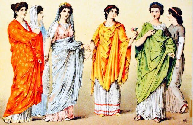 Roma Clasica Historia De La Moda: Roma Clásica