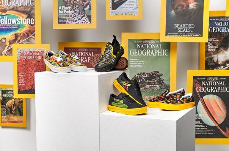 Vans X National Geographic 08 Vans Presenta Su Colección Más Salvaje - Moda Y Diseñadores Calzado, Cuero