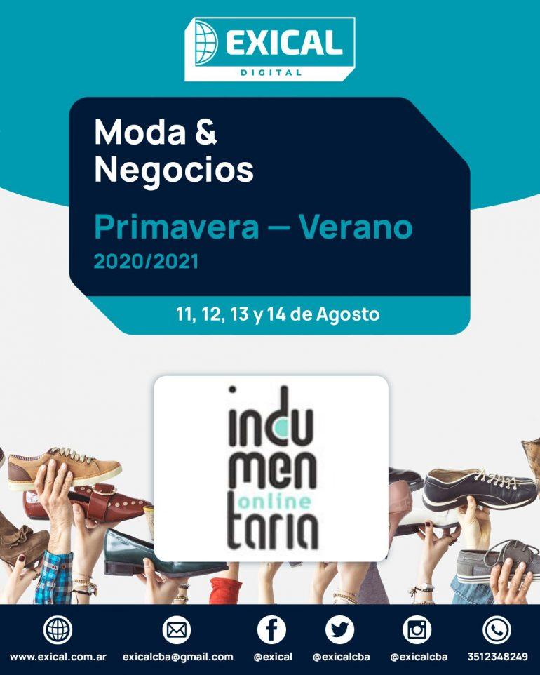 Invit Digital Indumentaria Online Indumentariaonline Expone En Exical Digital - Eventos Calzado, Cuero