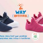 Bibi Antivirales Bibi Lanza Calzado Para Niños Con Suela Antiviral