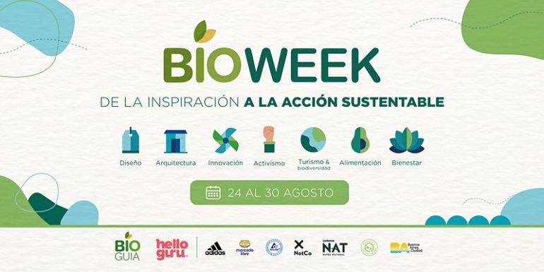 Bioweek Sustentabilidad Bioweek, Evento Digital De Sustentabilidad - Moda Sostenible