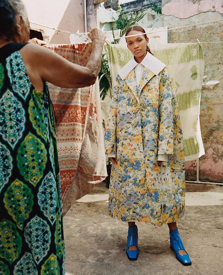 Nina Ricci Ss20 Nadine Ijewere 05 El Poder Del Optimismo Ante La Adversidad - Moda Y Diseñadores Textil E Indumentaria