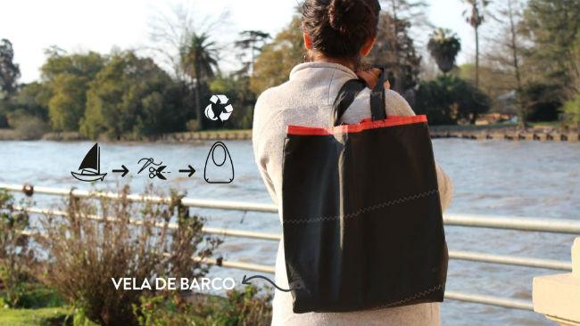 Vela De Barco La Única Marca Argentina Que Hace &Quot;Bolsa&Quot; El Plástico - Moda Sostenible