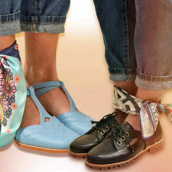 20200902 084715 Hermanas Aguila + Valentina Camacho : Diseño Argentino - Moda Y Diseñadores Calzado, Cuero