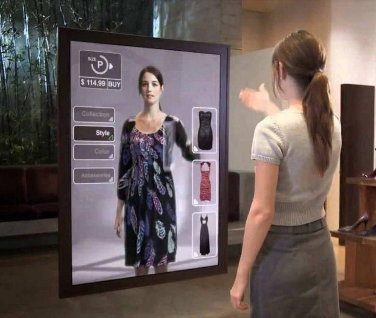 Tecnología Revoluciona Las Tiendas Lo Último En Moda Y Tecnología: Probador De Indumentaria Virtual