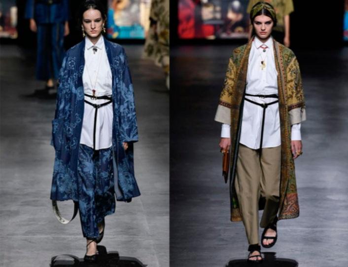 20201002 101833 Dior: Kimono Y Prendas Con Aires Orientales Son Tendencia - Tendencias 2021/2022 En Textil E Indumentaria