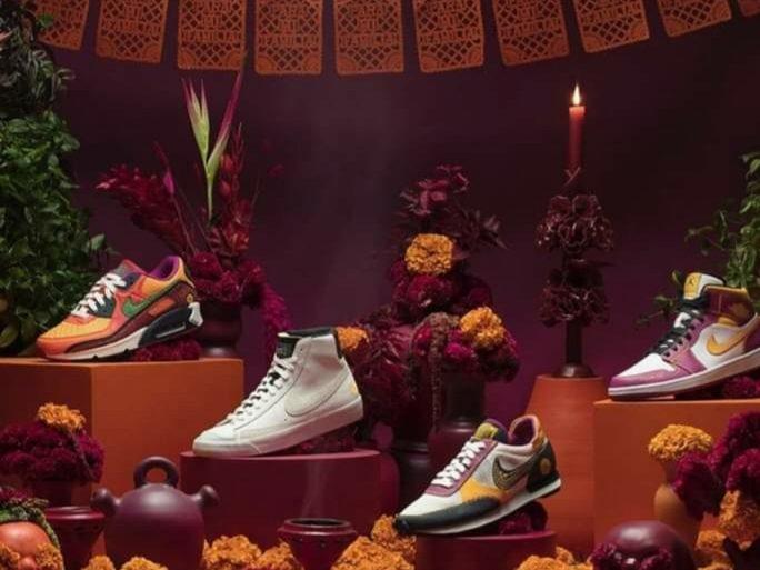 20201009 054805 Calzado Deportivo: Nike Lanza Colección Por El Día De Los Muertos - #Indumentariaonline