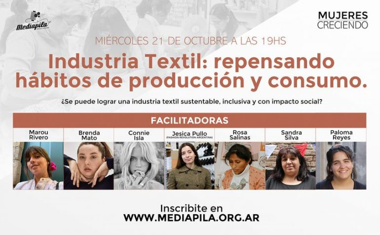 Mediapila Industria Textil: Repensando Hábitos De Producción Y Consumo