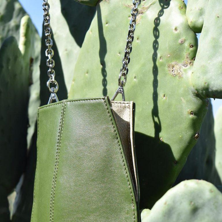 Cuero De Cactus Cuero Sostenible A Base De Cactus - Moda Sostenible