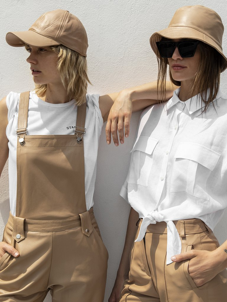 Boken 3 La Marca Argentina Bōken Fusiona Lino Y Cuero - Moda Y Diseñadores Textil E Indumentaria