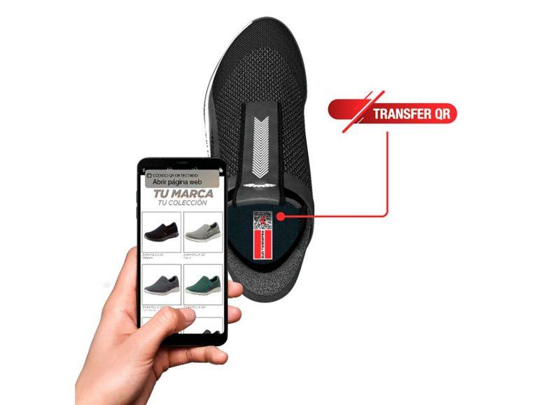 Codigos Qr Contacto Instantaneo Entre Consumidor Y Fabricante Transfer Qr Para Calzado