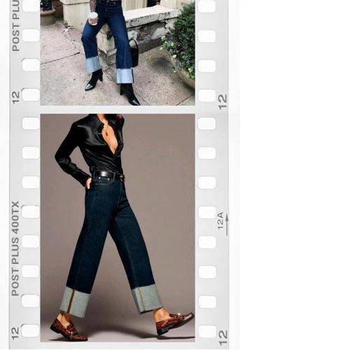 136054557 699256614107039 782724736317557672 N Tendencias 2021: Folded Up Jeans O Botamanga Arriba - Tendencias 2021/2022 En Textil E Indumentaria