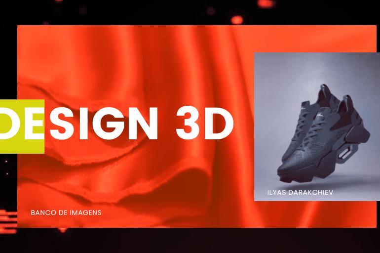 Design 3D Proyecto Diseño 3D De Calzado En Inspiramais