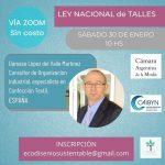 Ley Nacional De Talles Conferencia Acerca De La &Amp;Quot;Ley Nacional De Talles&Amp;Quot; - Interes General