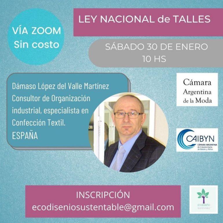 Ley Nacional De Talles Conferencia Acerca De La &Quot;Ley Nacional De Talles&Quot; - Interes General