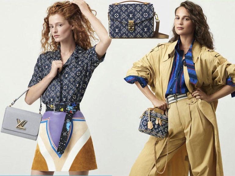 Louis Vuitton Louis Vuitton Se Tiñó De Azul Jean